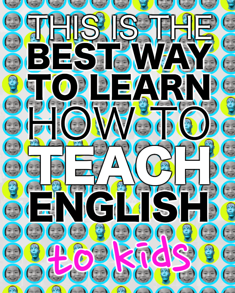 This is the best way to learn how to teach English