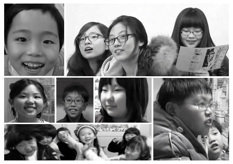 Young Korean students