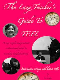 Lazy teacher's guide to TEFL